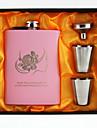 Rozsdamentes acél Flaska Menyasszony / Vőlegény / Koszorúslány Esküvő / Évforduló / Születésnap