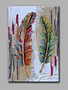 Pictat manual Abstract Vertical,Modern Un Panou Canava Hang-pictate pictură în ulei For Pagina de decorare