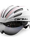 CAIRBULL Adultes Casque de velo 28 Aeration CE / CE EN 1077 Certification Resistant aux impacts, Poids leger, Reglable EPS, PC Cyclisme sur Route / Cyclotourisme / Cyclisme / Velo - Blanc Homme