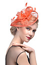 Tulle / Feather Kentucky Derby Hat / Fascinators / Headwear with Floral 1pc Wedding / Special Occasion Headpiece