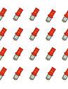 20st t10 5 * 5050 smd ledde billampa rött ljus dc12v