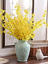 Flori artificiale 10 ramură Stil modern Orhidee Față de masă flori