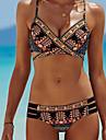 Pentru femei Boho Bikini - În Cruce, Geometric Cu Bretele Briefs