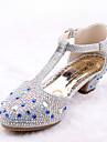 Fete Pantofi Flați Vară Toamnă Noutăți Pantofi de flori Fata Confortabili Microfibre Imitație de Piele Nuntă Rochie Casual Party & Seară