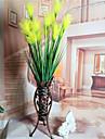 1 ramură Flori Uscate Lotus Față de masă flori Flori artificiale