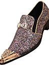 Homme Chaussures Cuir Nappa Printemps / Automne Chaussures formelles Oxfords Brun claire / Soiree & Evenement / Chaussures de nouveaute