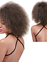 Synthetic Wig Women\'s Curly / Afro Red Synthetic Hair Natural Hairline / African American Wig Red / Black / Brown Wig Long Capless Dark Brown Brown Red