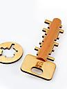 Träpussel Hjärngymnastik Konstruktionsleksaker Utbildningsleksak Leksaker Nycklar Miljövänlig Trä Unisex Vuxna Bitar