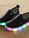 Băieți Mocasini & Balerini Vară Toamnă Aprinde saboții Shoe luminoasă Confortabili Primii Pași Tălpi cu Lumini PU Nuntă Outdoor CasualToc