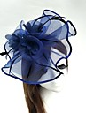 Tulle / Plume / Filet Kentucky Derby Hat / Fascinators / Chapeaux avec 1 Mariage / Occasion speciale Casque