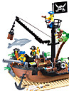 ENLIGHTEN Building Blocks Model Building Kit Construction Set Toys Pirate Ship Pirates compatible Legoing Boys\' Girls\' Toy Gift / Educational Toy