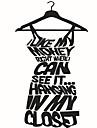 Desene Animate Cuvinte & Citate Forme Perete Postituri Autocolante perete plane Autocolante de Perete Decorative,Vinil MaterialPagina de