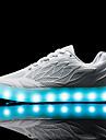 Damă Adidași Primăvară Toamnă Confortabili Aprinde saboții Shoe luminoasă PU Outdoor Casual Atletic Toc Jos Dantelă LED