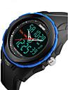 SKMEI Bărbați Ceas Sport Ceas de Mână Piloane de Menținut Carnea LCD Calendar Rezistent la Apă Zone Duale de Timp alarmă Cronometru