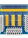 Multifunktionell gpio expansionskärmadapterkort för hallon pi 3
