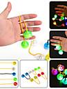 Ywxlight® condus de lumina de noapte lumina degetul yo yo degetul de mână spinner birou copii copil pentru rotație timp lung anti stres