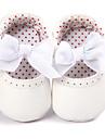 Fete Pantofi PU Primăvara & toamnă Confortabili / Primii Pași / Pantofi Moi Mocasini & Balerini Funde pentru Auriu / Alb / Roz / Nuntă