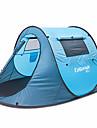 1 person Tält Dubbel Tält Utomhus Pop upp tält Fuktighetsskyddad Vattentät Regnsäker för Camping Land Utomhus <1000mm