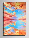 Hang-pictate pictură în ulei Pictat manual - Peisaj Retro pânză