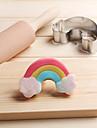 1 Instrumente cookie desen animat în formă pentru Sandwich Pâine Biscuiți Plăcintă pentru brânză pentru Candy Teakziua îndragostiților