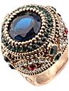 Pentru femei Cristal Inel de declarație / Inel - Reșină, Ștras Personalizat, Lux, Design Unic 7 / 8 / 9 Culori Asortate Pentru Crăciun / Cadouri de Crăciun / Nuntă