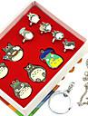 Plus d\'accessoires Inspire par Mon voisin Totoro Ran Mao Manga Accessoires de Cosplay Anneaux Alliage