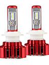 Nighteye 2pcs / set faruri auto h7 led bulb auto 60w 8000lm automobile far 6000k 12v condus blub h7 condus lumini cap cap auto