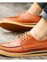 Bărbați Pantofi Piele Primăvară Vară Confortabili Oxfords Pentru Casual Negru Maro Deschis