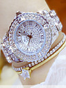 Pentru femei Ceas de Mână Chineză Cronograf / Rezistent la Apă / Creative Aliaj Bandă Charm / Lux / Casual Argint / Auriu