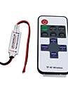 Hkv® wireless mini controler controler dimmer 11key rf control de la distanță pentru unică culoare LED-uri benzi dc 5-24v
