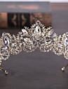 Alamă Imitație de Perle Diademe 1 Nuntă Aniversare Zi de Naștere Felicitări Diadema