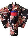 Costume Cosplay Kimono Mai multe accesorii Inspirat de Hell Girl Ai Enma Anime Accesorii Cosplay Kimono Centură Alte materiale Feminin