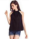Pentru femei Stil Nautic Bluză Vintage - Mată