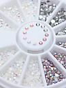 1 pcs Bijoux a ongles Brille & Scintille / Couleur mixte Nail Art Design