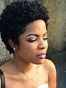 Perucas de cabelo capless do cabelo humano Cabelo Humano Encaracolado Curto Fabrico a Maquina Peruca Mulheres