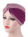 Pentru femei Peteci Culoare pură Pălărie, Bumbac - Floppy
