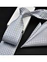 Bărbați Art Deco Imprimeu Oficial, Bumbac - Cravată