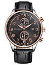 Bărbați Ceas La Modă Ceas de Mână Unic Creative ceas Ceas Casual Ceas Elegant  Chineză Quartz Calendar Mare Dial Piele Bandă Charm Lux