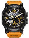 SMAEL Bărbați Ceas de Mână Ceas Sport Ceas digital Ceas La Modă Piloane de Menținut Carnea Alarmă Rezistent la Apă LED Luminos Zone Duale