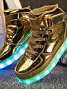 Băieți Adidași Plimbare Confortabili Pantofi Usori Imitație de Piele Toamnă Iarnă De Atletism Casual Cârlig & Buclă LED Toc JosAuriu Alb