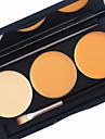 3 Color in 1 Palette, 2 Color Palette Choose Fond de Teint Correcteur/Contour Fards Bronzeurs Humide Mat Liquide Blanchiment Lissage de