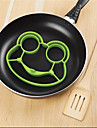silikon groda ägg stekta formformar shaper Poucher pannkaka ring kök verktyg