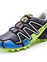 Erkek Ayakkabı PU Bahar Sonbahar Rahat Atletik Ayakkabılar Yürüyüş Günlük için Bağcıklı Siyah Gri Navy Mavi