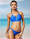 Femei Bikini Femei Cu Susținere Solid Polyester