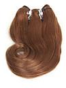 Brasilianskt hår Naturligt vågigt Kroppsvågor Hårförlängning av äkta hår 4 Nyans
