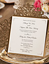 Wrap & Pocket Wedding Invitations 20 - Invitation Cards Classic Style Embossed Paper