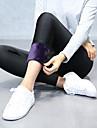 Femeile groase de culoare solidă fleece căptușit legături sportive, solid moale confortabil respirabil