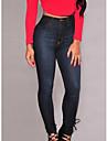 Pentru femei Casual Talie Inaltă, Micro-elastic Zvelt Blugi Pantaloni Mată Toamnă