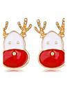 Pentru femei Cercei Stud Chrismas Adorabil Aliaj Bijuterii Pentru Crăciun