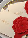 Împăturit în partea de sus Invitatii de nunta 20 - Invitații Stil Clasic Hârtie Reliefată